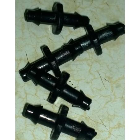Conector Recto 4mm Microriego
